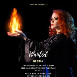 Hestia, Goddess of the Hearth & Home
